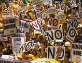 مظاهرات فى إسبانيا