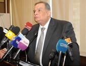 المستشار إبراهيم الهنيدى وزير العدالة الانتقالية