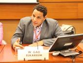 الدكتور ولاء جاد الكريم مدير مرصد الانتخابات البرلمانية بالبعثة الدولية
