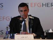 كريم عوض الرئيس التنفيذى للمجموعة المالية هيرمس