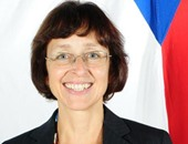 سفيرة التشيك بالقاهرة فيرونيكا كوخينيوفا