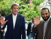 وزير الخارجية الأمريكى جون كيرى ومحمد بن سلمام