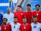 أبو هشيمة يشارك فى مباراة مع منتخب الصم