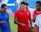 أحمد أبو هشيمة يشارك فى مباراة منتخب الصم