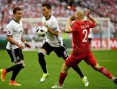 جانب من مباراة ألمانيا وبولندا