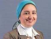 لبنى هلال نائب محافظ البنك المركزى المصرى