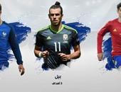 هدافو يورو 2016 حتى الآن