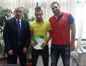 محمد بسيوني لاعب الشرطة أول صفقات نادي إنبي