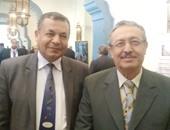 المهندس محمدكمال قريطم رئيس الشركة ومرسى توما العضو المنتدب