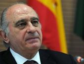 خورخى فيرنانديز دياز وزير الداخلية الإسبانى