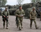 عناصر من الجيش الأوكرانى