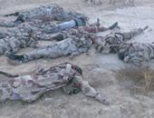 قتلى الإرهابيين فى هجمات على سيناء