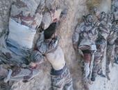 آثار الاشتباكات وعدد من القتلى الإرهابيين فى سيناء ـ أرشيفية