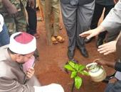 قافلة السلام إلى إفريقيا الوسطى تغرس شجرة السلام