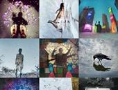 صورة مجمعة من إنستجرام لمجموعة الصور