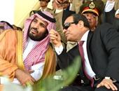 الرئيس عبد الفتاح السيسى وولى ولى العهد السعودى