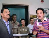 أحمد رجب فى جانب من الحلقة