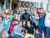 عمرو وأصحابه أبطال خارقون بالخير والضحكة