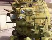 دبابة لعبة للأطفال - أرشيفية