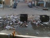 انتشار القمامة فى الشوارع - صورة أرشيفية