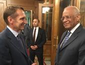 النائب على عبد العال رئيس مجلس النواب - رئيس مجلس الدوما الروسي