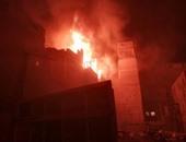 حريق منزل - صورة أرشيفية
