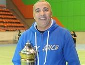 طارق خيرى المدرب العام لمنتخب كرة السلة للناشئين