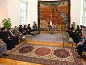 الرئيس السيسي والبابا تواضرواس