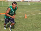 محمد عبد الشافى لاعب أهلى جدة السعودى