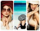 القبعات والنظارات الشمسية المناسبة للشاطئ