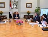 اجتماع الرئيس عبد الفتاح السيسي وعمرو الجارحى وزير المالية