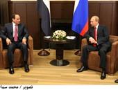 لقاء السيسى مع بوتين