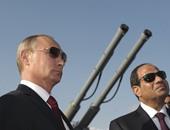 الرئيس السيسى وفلاديمير بوتين فى لقاء سابق