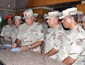 """قيادات الجيش يتبرعون لـ""""تحيا مصر"""""""