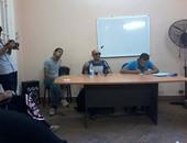 أحمد حرارة خلال ملتقى الشباب بجبهة طريق الثورة