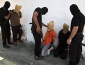 """إعدام """"عملاء إسرائيل"""" فى غزة"""