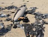 تحطم طائرة حربية - صورة أرشيفية