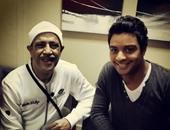 أحمد جمال وأشرف عبد الباقى
