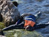 جانب من غرق المهاجرين فى البحر المتوسط – أرشيفية