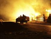 جانب من الإشتباكات فى ليبيا