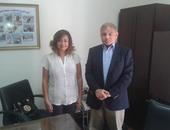 الدكتور رشدى زهران رئيس جامعة الإسكندرية