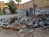 القمامة بمدينة ناصر فى سوهاج