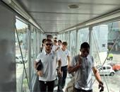 بعثة فريق ريال مدريد الإسبانى