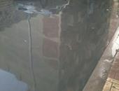 مياه الصرف الصحى تغرق منطقة فيكتوريا