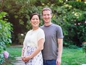 مارك زاكربيرج مؤسس فيس بوك وزوجته بريسيلا