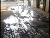 غرق شارع نقابة السائقين بمحافظة سوهاج