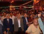 محافظ كفر الشيخ خلال احتفال افتتاح قناة السويس