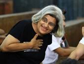 الدكتورة ليلى سويف والدة الناشط السياسى علاء عبد الفتاح