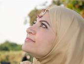 إحدى فتيات ستايل هندى بحديقة الأزهر