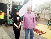 مراسلة شبكة رصد مع صفوت حجازى فى اعتصام رابعة